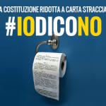 #iodicono vota NO al Referendum modifiche costituzionale