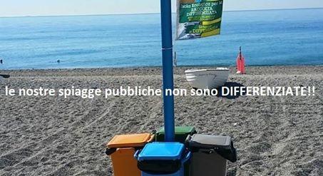 RACCOLTA DIFFERENZIATA SULLE SPIAGGE PUBBLICHE, PREVISTA MA INESISTENTE