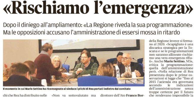 """RIFIUTI: AMMINISTRAZIONE COMUNALE """"CIECA E SORDA"""", NESSUNA VOLONTÀ DI CAMBIARE, FALLIMENTO POLITICO CHE RICADE SUI CITTADINI"""