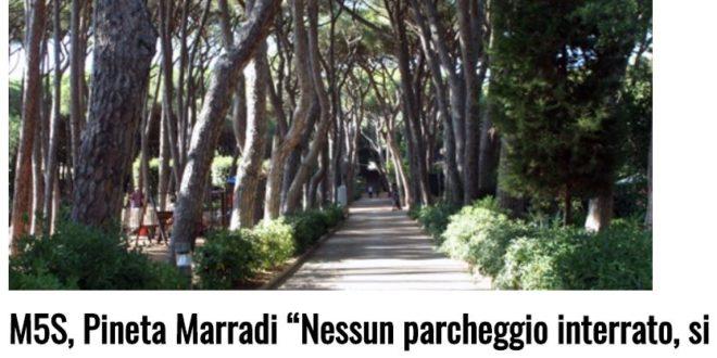 Castiglioncello, Pineta Marradi: Nessun parcheggio interrato, si ascoltino i cittadini