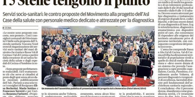 M5S ROSIGNANO E M5S CECINA: LE NOSTRE SONO PROPOSTE CONCRETE, NON PRETESE!