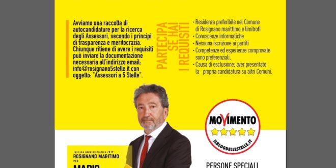RACCOLTA DELLE AUTOCANDIDATURE AL RUOLO DI ASSESSORE