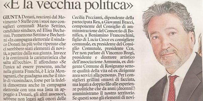 LA PROMESSA DI NOVITÀ' NON E' STATA MANTENUTA