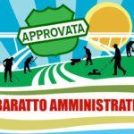 mozione baratto amministrativo approvata