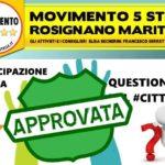 Mozione question time cittadino approvata