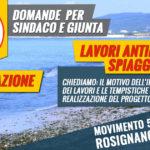 interrogazione lavori erosione spiagge a Vada