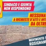 comune rosignano marittimonon risponde alle interpellanze del m5s