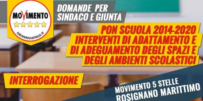 SCUOLA: INTERROGAZIONE URGENTE SUI FONDI PER L'ADEGUAMENTO EDILIZIO DELLE SCUOLE