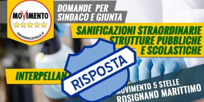 SANIFICAZIONE STRUTTURE PUBBLICHE E SCOLASTICHE: LA RISPOSTA