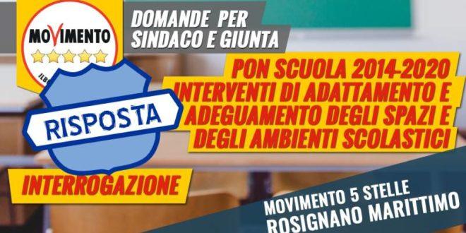 DAL MINISTERO DELL'ISTRUZIONE 110.000 EURO PER LE SCUOLE DEL NOSTRO COMUNE