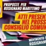 Atti M5S Rosignano Consiglio Comunale