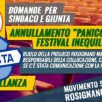 risposta interpellanza annuyllamento messa in scena opera Panico Ma Rosa festival inequilibrio 2020