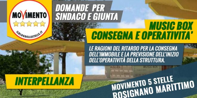 MUSIC BOX, CHI L'HA VISTO?