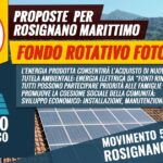 mozione fondo rotativo fotovoltaico reddito energetico