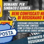 risposta beni confiscati alla mafia criminalità rosignano marittimo m5s