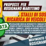 approvata mozione m5s installazione colonnine di ricarica a rosignano marittimo