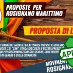 Mozione proposta di legge ZAN approvata m5s Rosignano marittimo