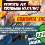 mozione approvata m5s rosignano comunità energetiche