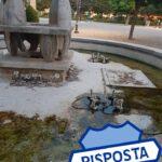 INTERROGAZIONE DEGRADO fontana piazza vada